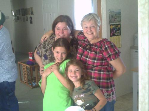 Daughter and Grandaughters