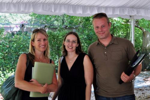 """Kindra & James with Daria """"the wedding planner"""""""