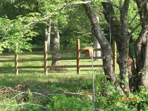 fence along north border