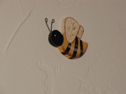 Wooden bee...