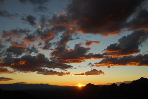 Sunset over Sedona, AZ